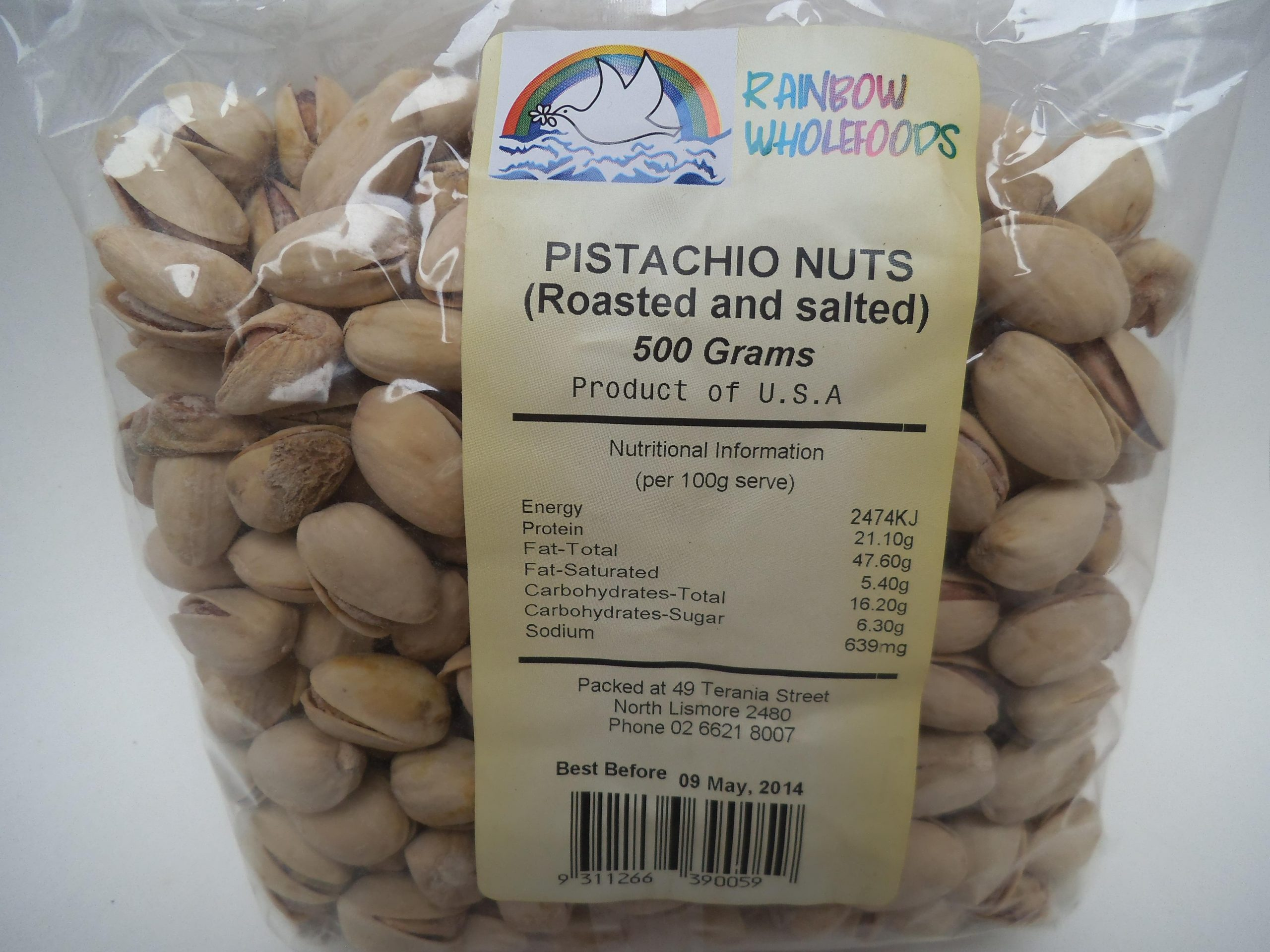 Pistachio (Roasted and Salted) 500g
